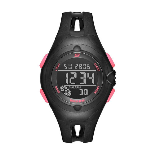 skechers - reloj sr2078 open center strap para mujer