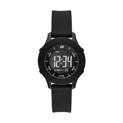 skechers - reloj sr6141 rosencrans mini digital casual para
