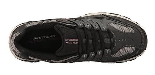 skechers sport afterburn memoryfoam calzado acordonadas para