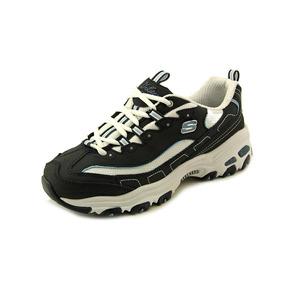 Zapatillas Cordones Para Con Sport Mujer Skechers D'lites 3A5jRL4