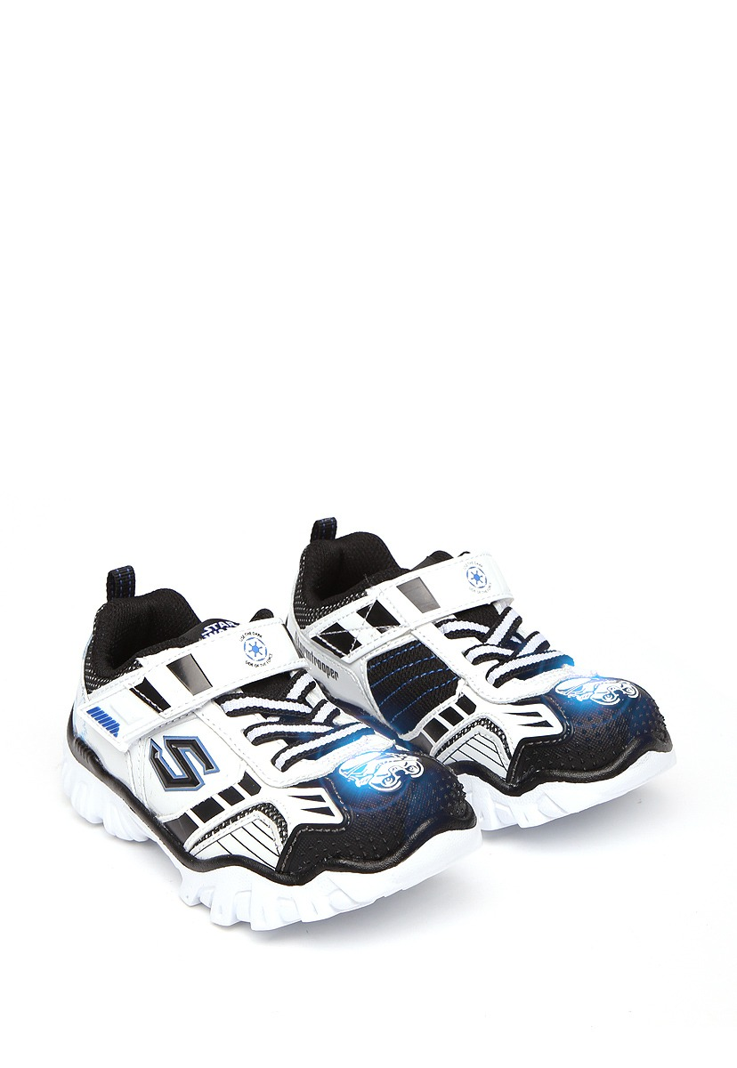 Skechers tenis deportivo star wars blanco zapatos para niños