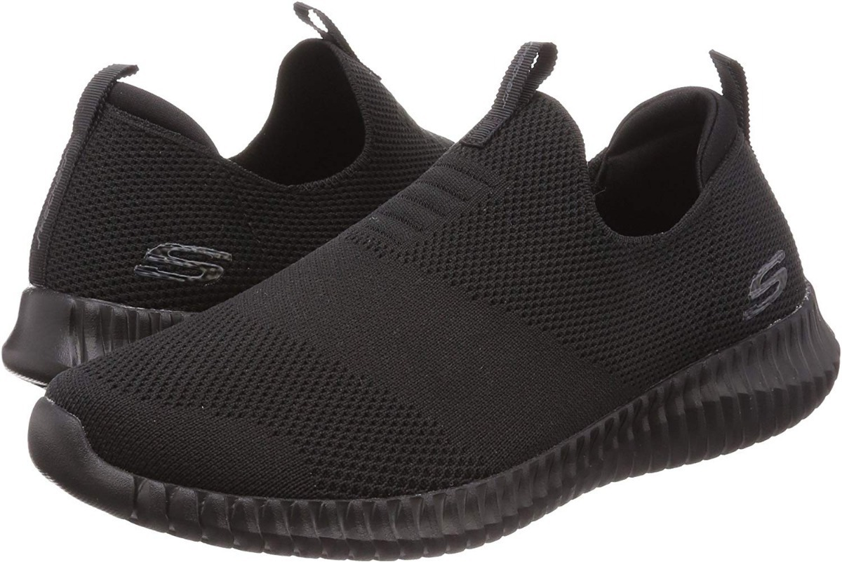 Skechers Elite Flex Wasik, Zapatillas sin Cordones para Hombre