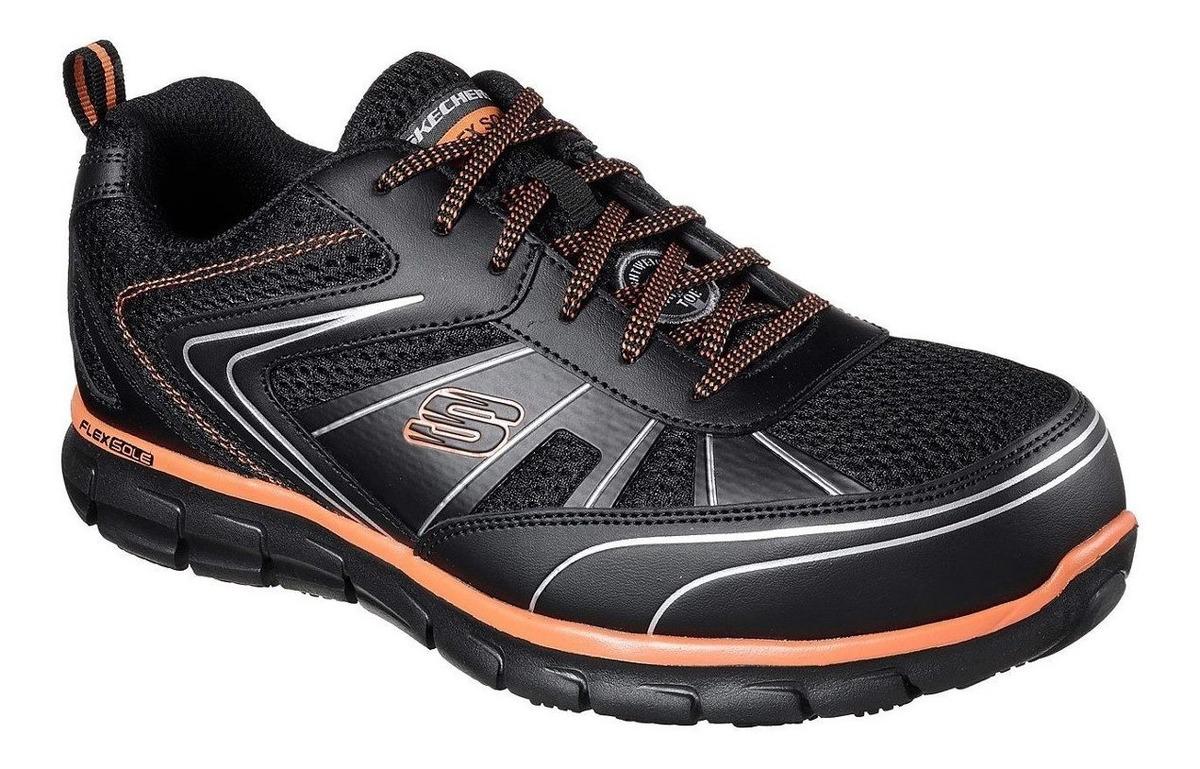 0d17b4888dc Skechers Zapatos De Seguridad Modelo 77122 Synergy Hombre ...