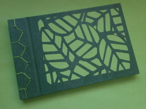 sketchbook libreta de bocetos artesanal encuadernado japonés