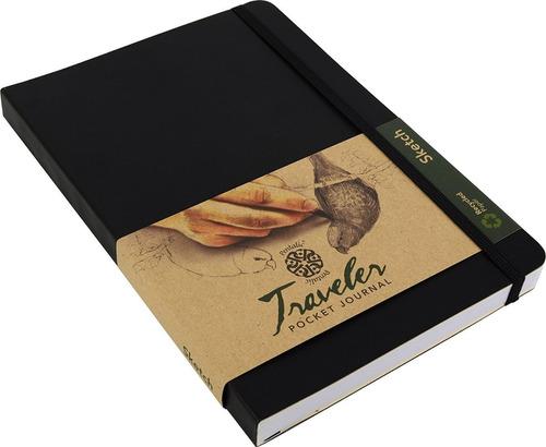 sketchbook o libro de dibujo tipo moleskine 21 x 14 cm.