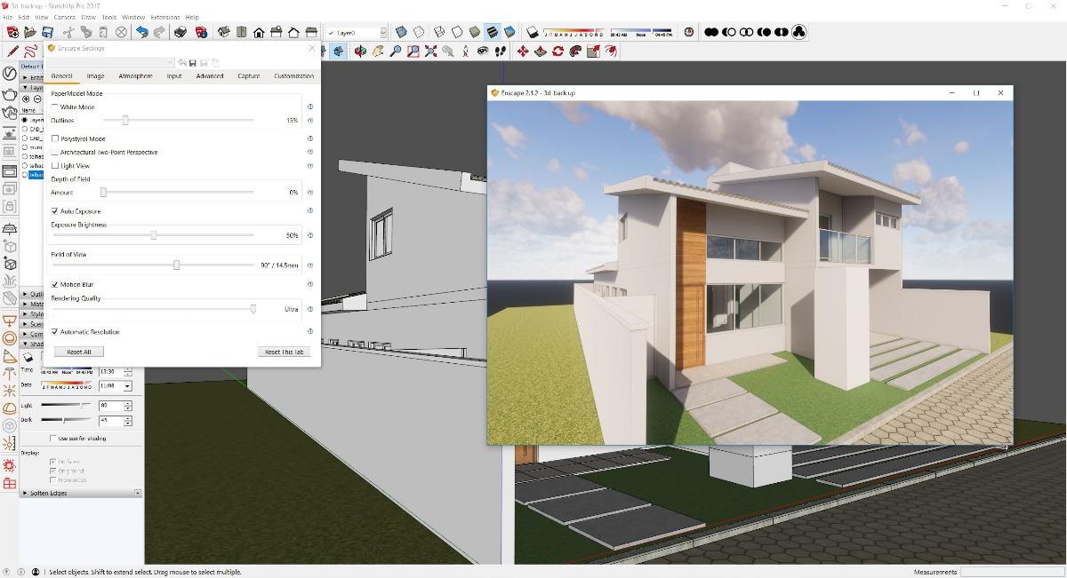 Sketchup Pro 2017 Para Mac + Vray + Materiales + Componentes