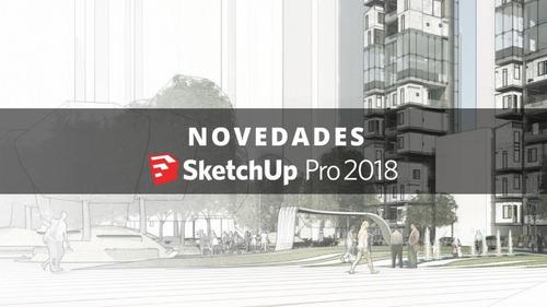 sketchup pro 2018 receba hoje atualizado lançament window 10