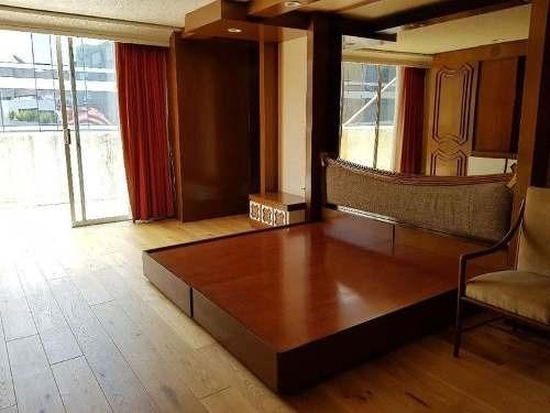 skg renta penthouse de 2 niveles con terrazas en  polanco, 3 recámaras