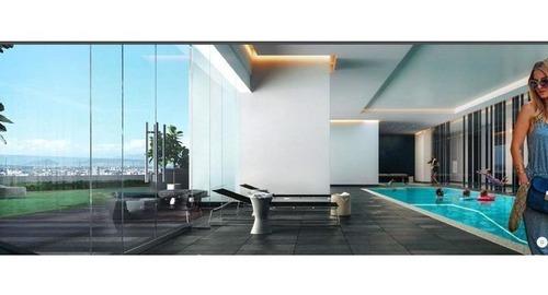 skg vende departamento en cosmocrat interlomas de 1 recámara, 68 m2.
