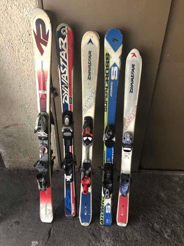 ski niño distintas medias