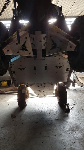 skid plate - can-am maverick x3 s xds 4mm