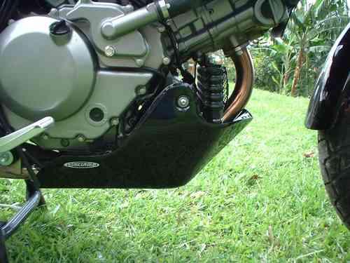 skid plate en aluminio para todo tipo de motos