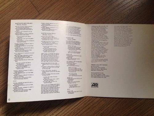 skid row cd original da época hard rock heavy metal