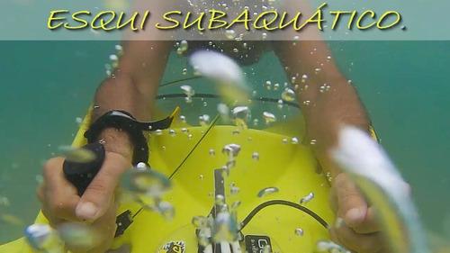 skimer fun yellow - wakeboard, esqui aquático, bodyboard.
