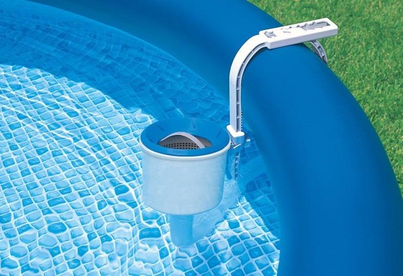 Skimmer intex piscina inflavel pre filtro bomba filtrante r 147 35 em mercado livre - Piscina skimmer ...