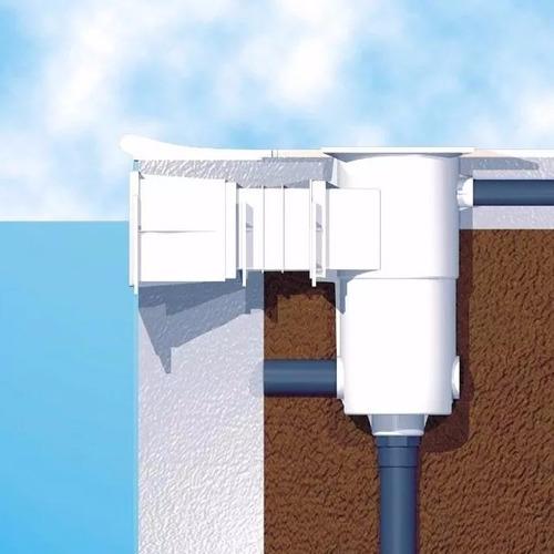 Skimmer para piscina boca bp sodramar vinil fibra alvenaria r 348 00 em mercado livre - Skimmer para piscinas ...