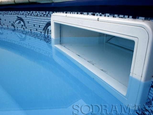 Skimmer para piscina boca pequena sodramar r 235 00 em mercado livre - Skimmer para piscinas ...