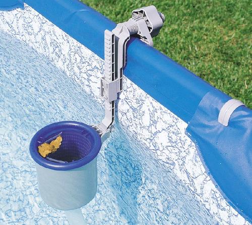 skimmer piscina inflável ou estrutural bestway filtro #58233