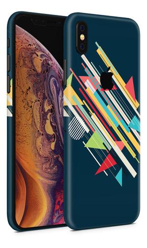 skin abstract retro para telefonos apple iphone