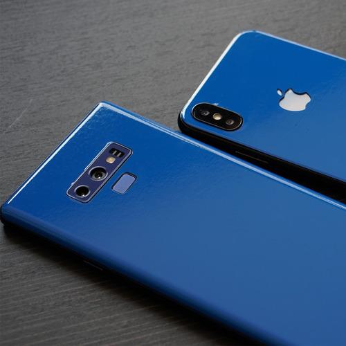 skin azul intenso para apple samsung huawei sony xiaomi etc