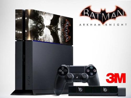skin capa película adesiva ps4 batman arkham knight 3m