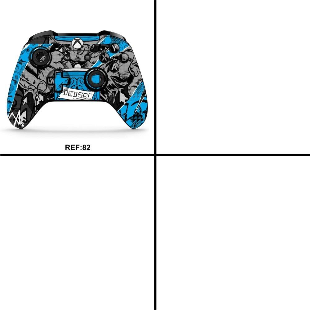 Kit 2 Skin Controle Xbox One Texturas Filmes Desenho 3 R