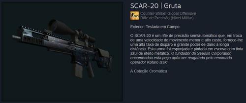 skin cs go scar-20 | gruta