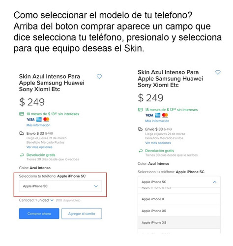 skin geo lines para telefonos apple iphone
