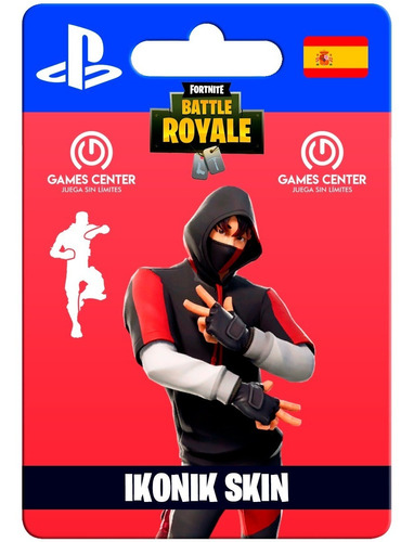 skin ikonik fortnite + baile - ps4 - games center perú