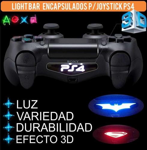 skin light bar p/ joystick ps4 encapsulado c/resina.batman