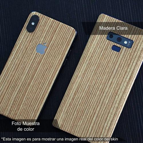 skin madera clara apple samsung huawei lg sony xiaomi etc