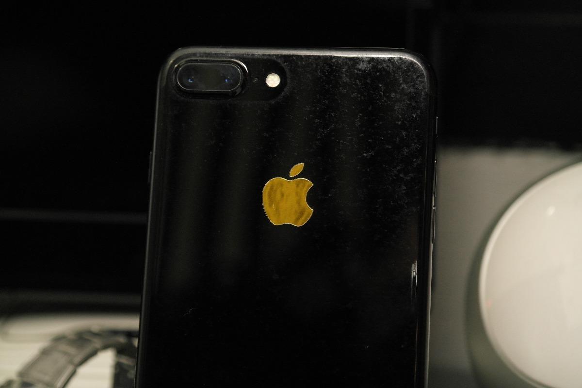 825401690b7 Skin Manzana Dorada Para Iphone 7 Plus 8000 En Mercado Libre