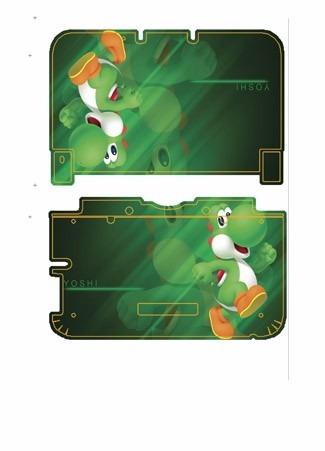 skin nintendo 3ds xl yoshi personalizado