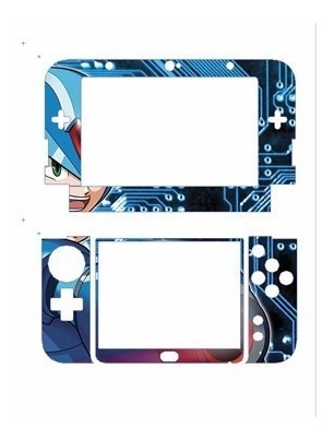 skin nintendo new 3ds xl  megaman