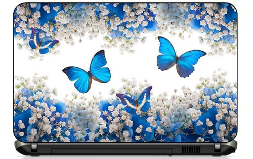 skin notebook borboletas paisagens