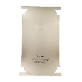 Skin Película Traseira Red iPhone 6 6s Plus 7 7 Plus + Vidro