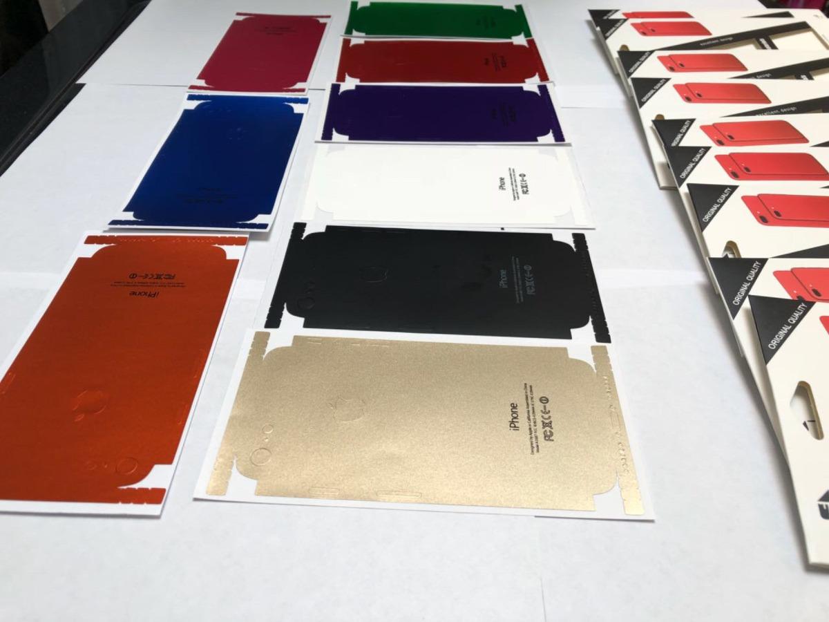 efbbfe19992 skin protector iphone 6 trasero completo colores varios. Cargando zoom.