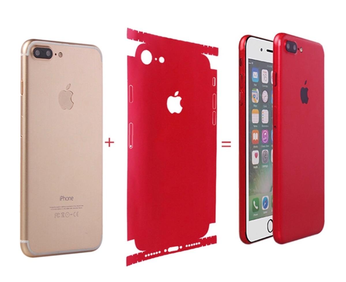 b018e0ca3b8 skin protector trasero completo iphone 8 colores variados. Cargando zoom.