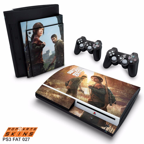 skin ps3 fat adesivo playstation 3 the last of us