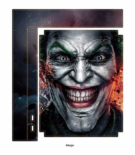 skin ps3 super slim joker (209) consola+2 skins controles