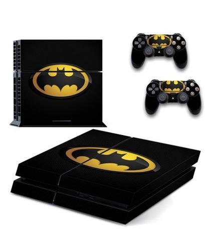 skin ps4 batman (621) consola+2 skins controles