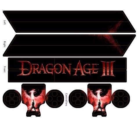 skin ps4 dragon age consola+2 skins controles personalizado