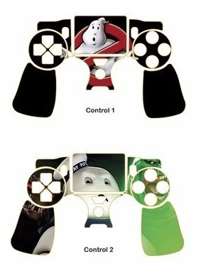 skin ps4 fat ghostbusters consola+2 skins controles