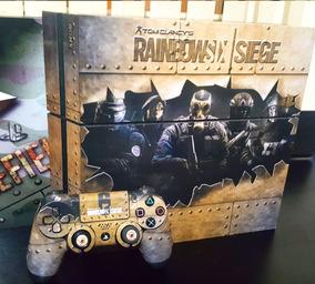 Skin Ps4 Fat Rainbow Six Siege Metal