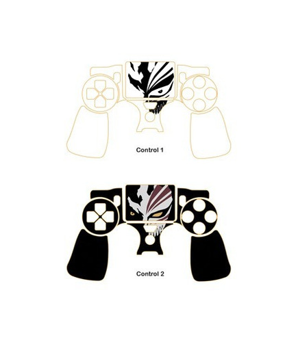skin ps4 slim anime (383) consola+2 skins controles