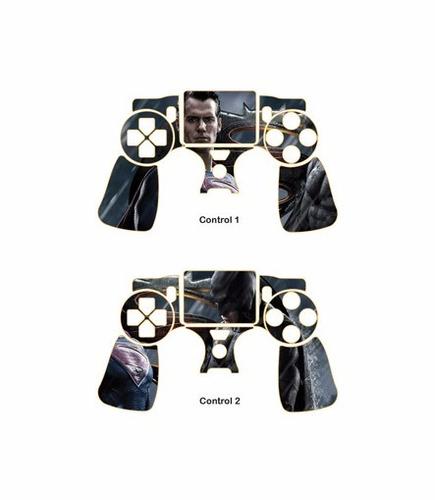 skin ps4 slim batman vs superman (1)consola+2 skin controles