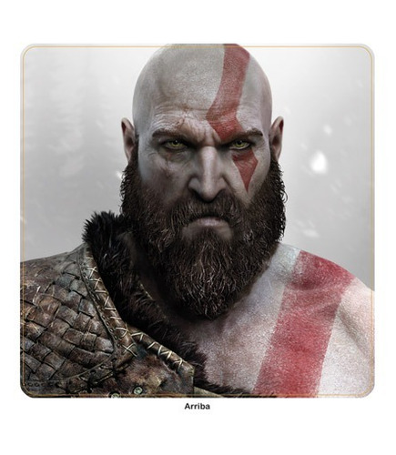 skin ps4 slim god of war (471) consola+2 skins controles