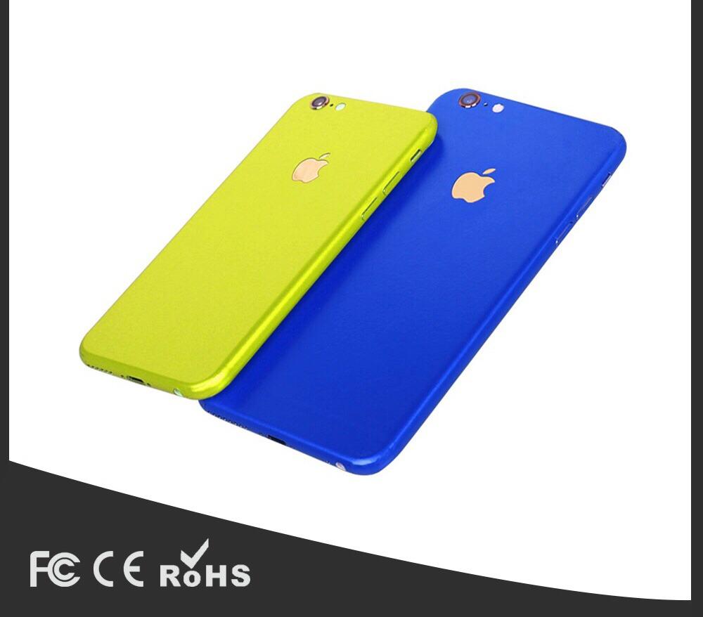 0270f239708 skin trasero protector iphone 6s completo colores variados. Cargando zoom.