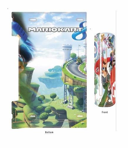 skin wii u mario kart (1) consola+1 skin gamepad