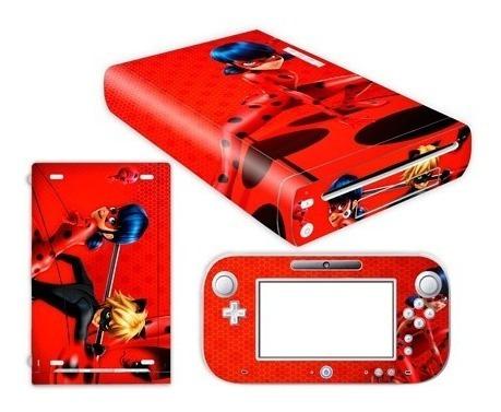 skin wii u prodigiosas consola+1 skin gamepad personalizado